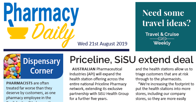 Pharmacy Daily on SiSU Health Group